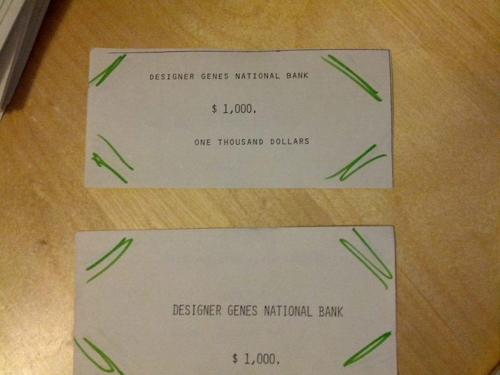 Designer Genes : The Game - History from 1984 and it's original inception 2